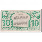 Banknote, Indonesia, 10 Rupiah, 1947, 1947-12-15, KM:S123, EF(40-45)