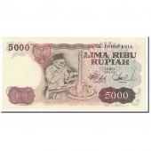 Billet, Indonésie, 5000 Rupiah, 1980, KM:120A, SPL