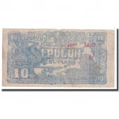 Banknote, Indonesia, 10 Rupiah, 1948, 1948-01-01, KM:S190b, VG(8-10)