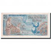 Billet, Indonésie, 2 1/2 Rupiah, 1960, KM:77, TTB