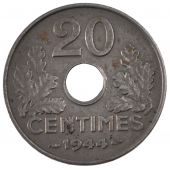 French State, 20 Centimes iron