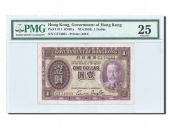 Hong Kong, 1 Dollar 1935, PMG VF 25, Pick 311