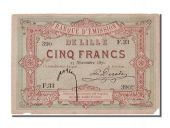 Bank of issue of Lille, 5 Francs, Lille