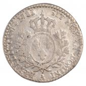 Louis XVI, 1/10 Ecu with olive tree branches