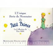 FRANCE, Set Franc, 2001, MS(65-70), Petit Prince
