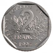 Vth Republic , 2 Francs Semeuse