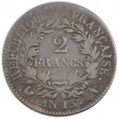 First Empire, 2 Francs Napoleon Emperor