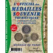 Book, Tourists-Tokens, France, Monnaie de Paris, 2016, Safe:1864/16