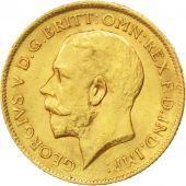Grande Bretagne, Georges V, 1/2 Souverain 1911, KM 819