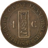Indochine, 1 Cent 1889 A, KM 1