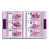 Album, with 70 pages for 420 Touristics Banknotes, Leuchtturm:349260