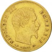 Second Empire, 5 Francs Or Napol�on III grand module 1856 Paris, KM 787.1