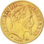 Second Empire, 10 Francs Or Napol�on III t�te laur�e 1865 Paris, KM 800.1