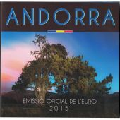 Andorra, Euro-Set, 1 Cent to 2 Euro, 2015, FDC