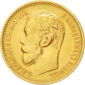 Russie, Nicolas II, 5 Roubles 1899 Saint-P�tersbourg, KM Y62