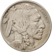 Etats-Unis, Buffalo Nickel 1917 Philadelphie, KM 134