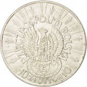 Pologne, République, 10 Zlotych 1934, KM Y26