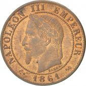 Second Empire, 1 Centime Napoléon III tête laurée 1861 Bordeaux, KM 795.3