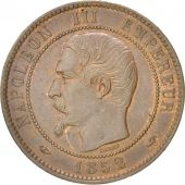 FRANCE, Napoléon III, 10 Centimes, 1852, Paris, KM:771.1, AU(55-58), Bronze