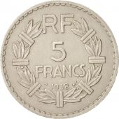 FRANCE, Lavrillier, 5 Francs, 1938, Paris, TTB, Nickel, KM:888, Gadoury:760