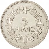 FRANCE, Lavrillier, 5 Francs, 1937, Paris, TTB, Nickel, KM:888, Gadoury:760