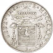 ITALIAN STATES, PAPAL STATES, 30 Baiocchi, 1830, Bologna, EF(40-45), Silver