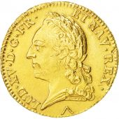 France, Louis XV, Double louis dor à la vieille tête, 1774 Lille, KM 557.8