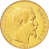 France, Napoléon III, 50 Francs, 1857, Paris, SUP, Gold, KM:785.1, Gadoury 1111