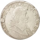 LIEGE, Maximilian Henry, Patagon, 1663, Liege, EF(40-45), Silver, KM:80