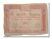 1000 Francs type Domaines Nationaux, signé Taizy