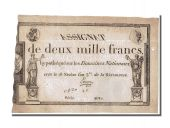 2000 Francs type Domaines Nationaux, signed by Emon