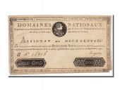 200 Livres type assignat portrait type, signed by Hugues - Epoch counterfeit type 2