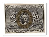 United States, 10 Cents type Fractionnal Currency 2nd Emission
