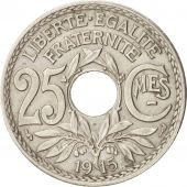 France, Lindauer, 25 Centimes, 1915, TTB, Nickel, KM:867, Gadoury:379