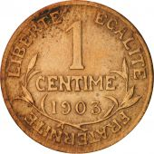 France, Dupuis, Centime, 1903, Paris, TB+, Bronze, KM:840, Gadoury:90