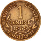 France, Dupuis, Centime, 1909, Paris, VF(30-35), Bronze, KM:840, Gadoury:90