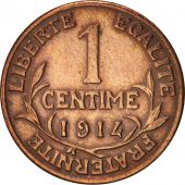 France, Dupuis, Centime, 1914, Paris, EF(40-45), Bronze, KM:840, Gadoury:90