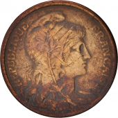 France, Dupuis, Centime, 1916, Paris, EF(40-45), Bronze, KM:840, Gadoury:90