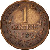 France, Dupuis, Centime, 1920, Paris, EF(40-45), Bronze, KM:840, Gadoury:90