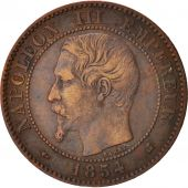 France, Napoleon III, 2 Centimes, 1854, Bordeaux, EF(40-45), Bronze, KM 776.5