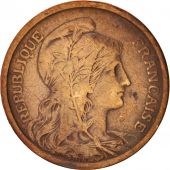 France, Dupuis, 2 Centimes, 1898, Paris, TTB, Bronze, KM:841, Gadoury:107