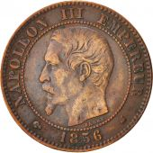 France, Napoleon III, 2 Centimes, 1856, Bordeaux, EF(40-45), Bronze, KM 776.5