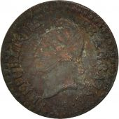 France, Dupré, Centime, 1799, Paris, VF(20-25), Bronze, KM:646, Gadoury:76a