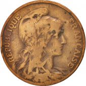 France, Dupuis, 10 Centimes, 1904, Paris, B+, Bronze, KM:843, Gadoury:277