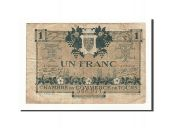 France, Tours, 1 Franc, 1920, TB, Pirot:123-4