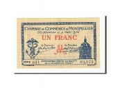 France, Montpellier, 1 Franc, 1915, SUP+, Pirot:85-10