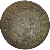 France, Double Tournois, 1598, Paris, TB+, Cuivre, Sombart:4184