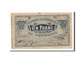 France, Bordeaux, 1 Franc, 1914, TTB, Pirot:30-2