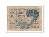 France, Bordeaux, 50 Centimes, 1921, TB, Pirot:30-28