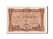 France, Nevers, 1 Franc, 1920, TTB, Pirot:90-19